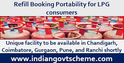 Refill Booking Portability for LPG