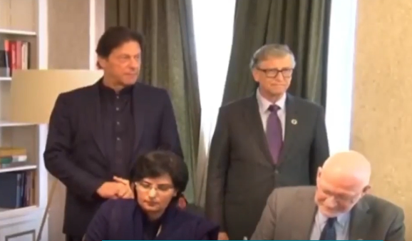 PM IMRANKHAN AND BILL GATES