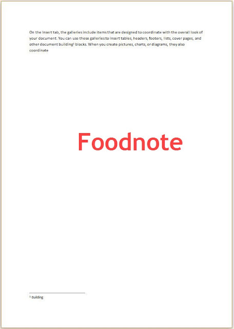 Foodnote is showing