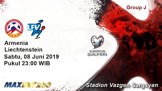 Prediksi Armenia Vs Liechtenstein, Sabtu 08 Juni 2019 Pukul 23.00 WIB