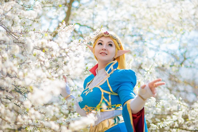 Shappi Workshop con su cosplay de Zelda - Breath of the Wild