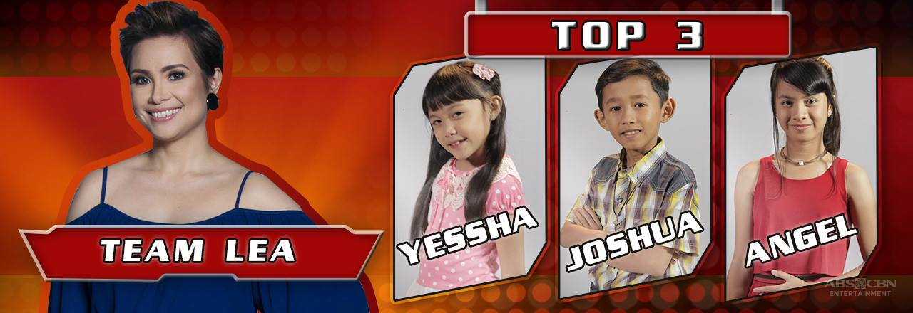 The Voice Kids PH 3 - Team Lea's Top 3