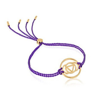Daisy London Brow Chakra Friendship Bracelet