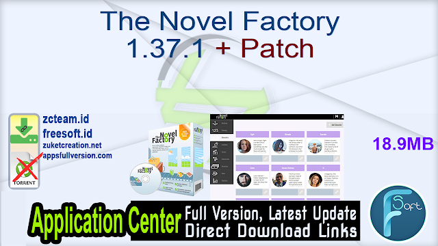 The Novel Factory 1.37.1 + Patch_ ZcTeam.id