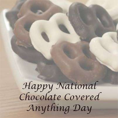National Chocolate Covered Anything Day Wishes Pics