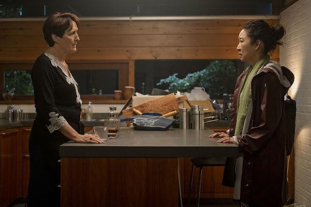 Fiona Shaw y Sandra Oh en Killing Eve