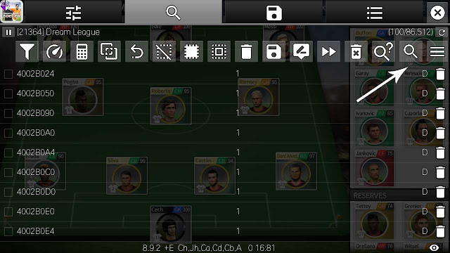 cara cheat player development dream league soccer game guardian