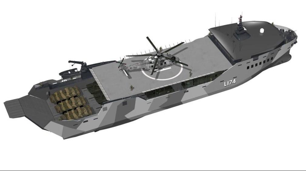 США: Нова морська піхота – нові десантні кораблі