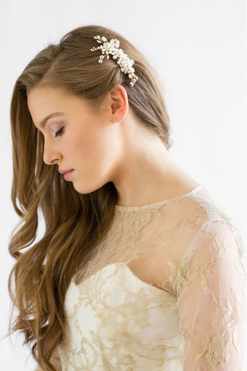 Hair Combs yang Anggun cocok untuk penganting