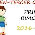 EXAMEN PARA PRIMER BIMESTRE-TERCER GRADO (2016-2017)