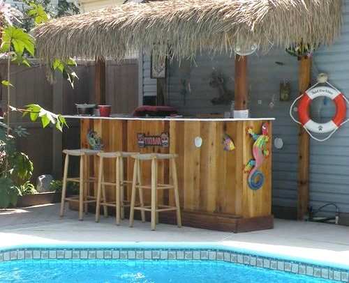 Beach Amp Tiki Bar Ideas For The Home Amp Backyard Coastal