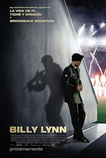 Cartel oficial español: Billy Lynn (2016)