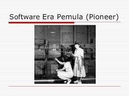 Sejarah Perkembangan Perangkat Lunak : Pembagian Perangkat Lunak
