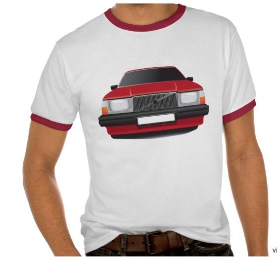 Volvo 740 t-shirt troja