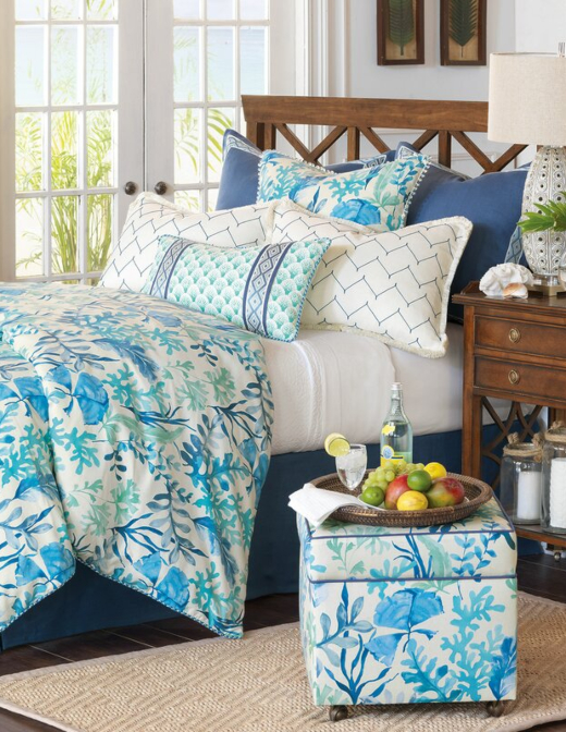 Blue Coral Reef Luxury Bedding