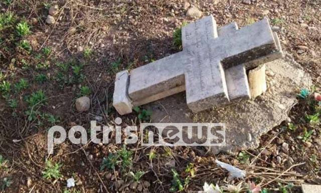 Βανδαλισμοί σε νεκροταφείο στην Πελοπόννησο – Αγανακτισμένοι οι κάτοικοι