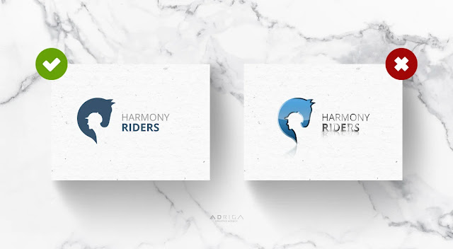 two different logo designs showcasing effect of specialfx