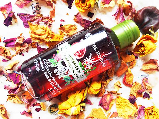 Yves Rocher Sprchovací gél Granátové jablko & ružové korenie