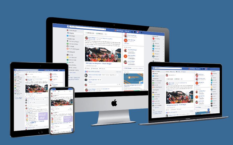 Social Media Theme for Blogger, Template for Blogger, Facebook Template Blogger,