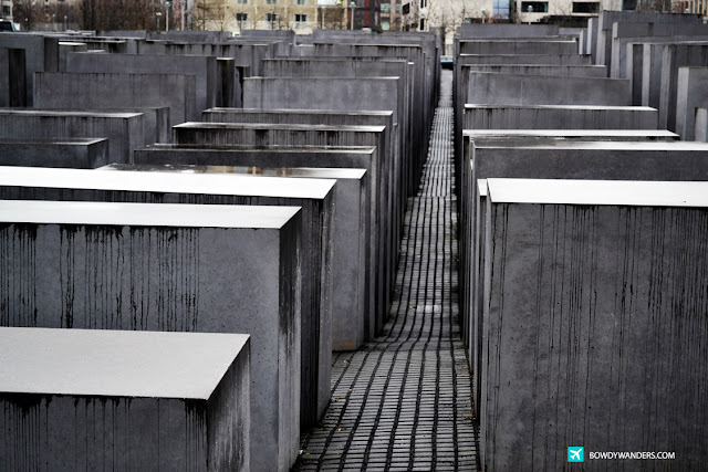 bowdywanders.com Singapore Travel Blog Philippines Photo :: Germany :: Memorial to the Murdered Jews of Europe: Traverse Around the Network of Concrete Holocaust Landmark