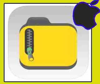 تطبيق ضغط الملفات للايفون