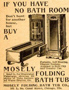Mosely Folding Bath Tub