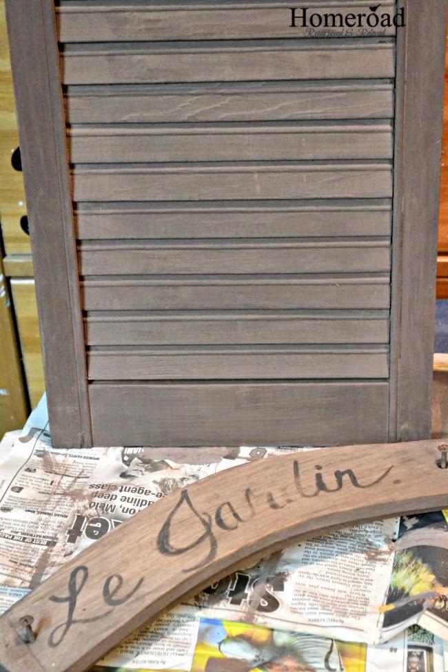 Garden Shutter Message Center