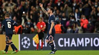 PSG vs Man City, Tại sao không vội thay Messi?