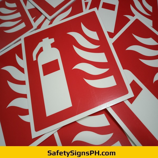 Luminous Fire Extinguisher Signs Philippines