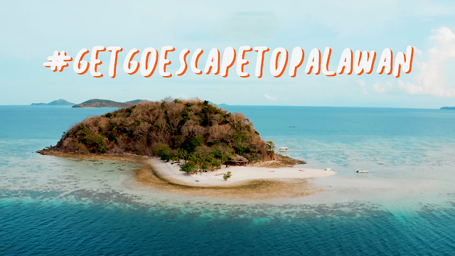 #GetGoEscapeToPalawan promo
