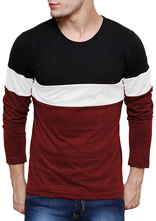 Men's Plain Slim Fit T-Shirt