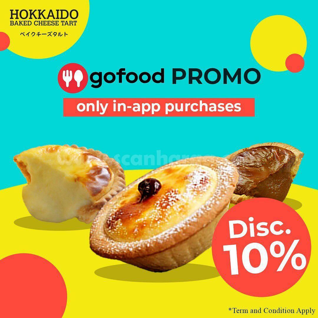 HOKKAIDO Promo DISKON 10% Pemesanan via aplikasi GOFOOD