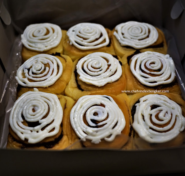 CINNAMON ROLL CREAM CHEESE TOPPING, vindex tengker