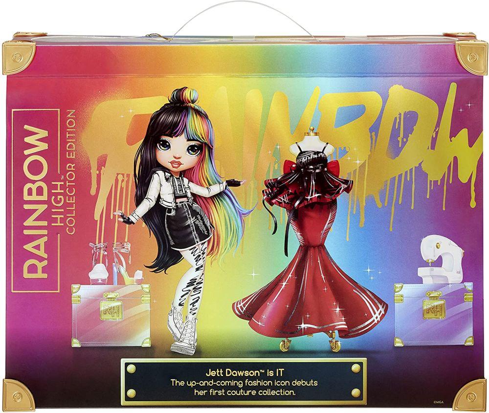 Коллекционная кукла Rainbow High Jett Dawson