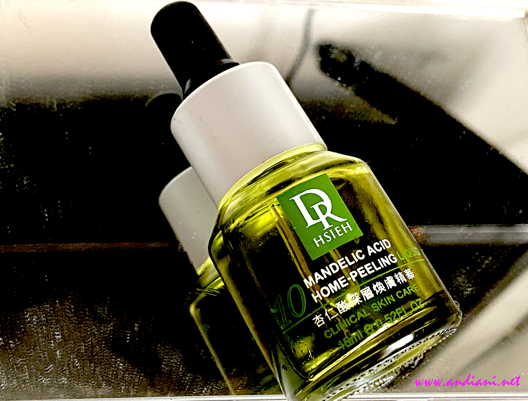 Review Dr.Hsieh 10% Mandelic Acid Home Peeling Liquid