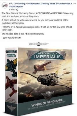 Precio Aeronautica Imperialis