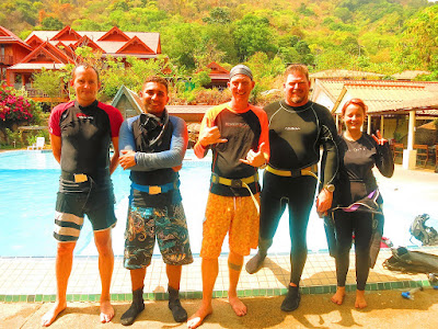 PADI IDC in May 2016 on Phuket, Thailand is halfway