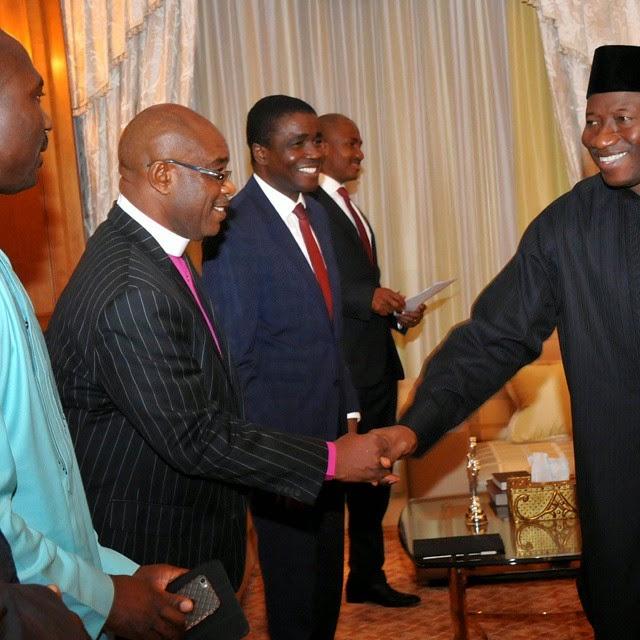 Pictures Of David Abioye Jet: Kunnies Blog: President Jonathan Breaks Lenten Fast With
