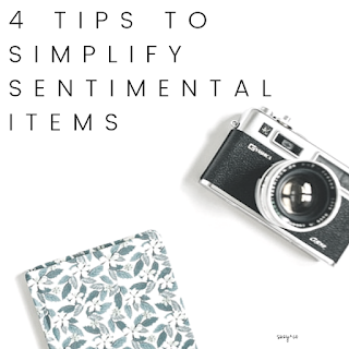 4 tips to simplify sentimental items