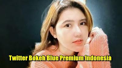 Twitter Bokeh Blue Premium Indonesia Terbaru 2021