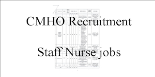 CMHO Staff Nurse Vacancies chhattigarh