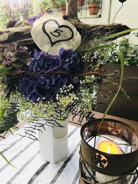 Hochzeitsblumen mit Treibholz Geschenkideen Hochzeitstag Jules kleines Freudenhaus