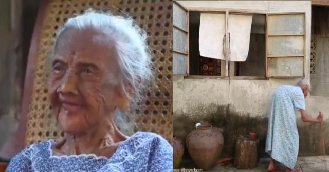 101 Anyos na Lola, Patuloy na Nagtatrabaho at Mag-Isang Namumuhay