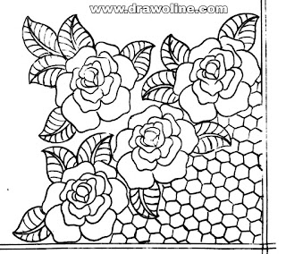 flower embroidery (corner) designs images,embroidery designs images free download,hand embroidery designs sketches