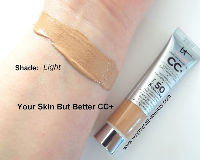 It Cosmetics Your Skin But Better CC+ swatches