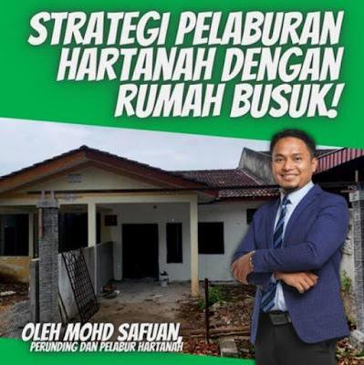 Strategi pelaburan hartanah dengan rumah busuk