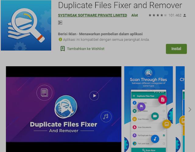 Cara Menemukan dan Menghapus File Duplikat,Foto,Lagu,Video di Android 2