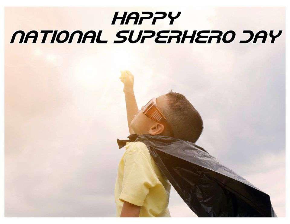 National Superhero Day Wishes Unique Image