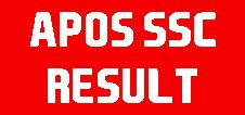 APOSS SSC Result