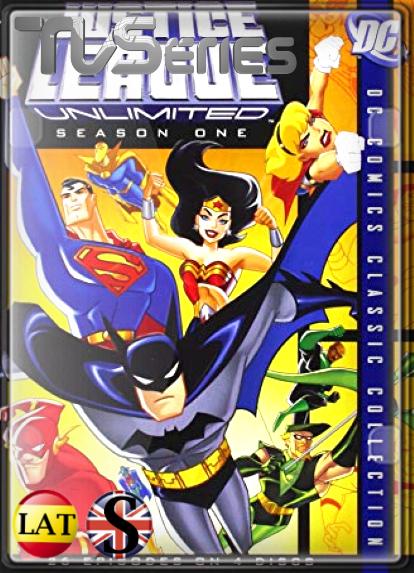 La Liga de la Justicia Ilimitada (TEMPORADA 1) HD 1080P LATINO/INGLES